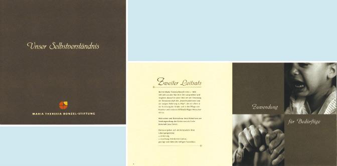 Leitbild-Broschüre