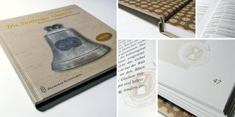 """Gestaltungskonzept des Buches """"Tutlinger Gloriosa"""""""