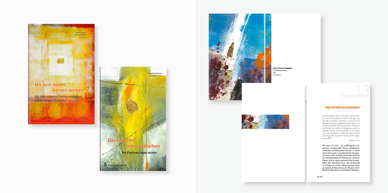 Gestaltungskonzept zweier Besinnungsbücher
