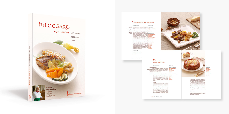 Gesamtgestaltung eines Kochbuchs