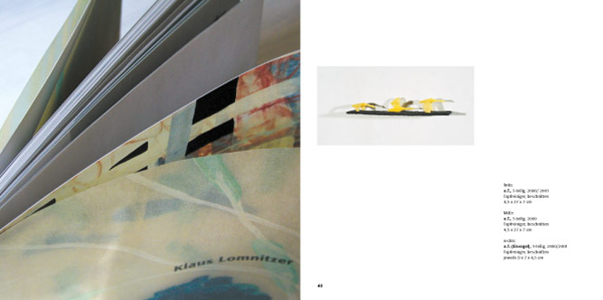 Kunstkatalog zur Präsentation auf der ART-Messe, Frankfurt