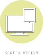 Button Bildergalerie Screen Design